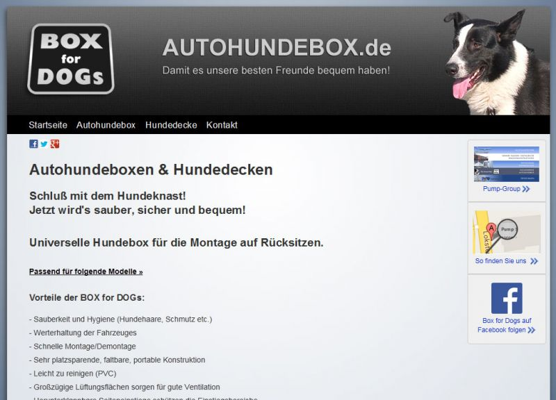Autohundebox