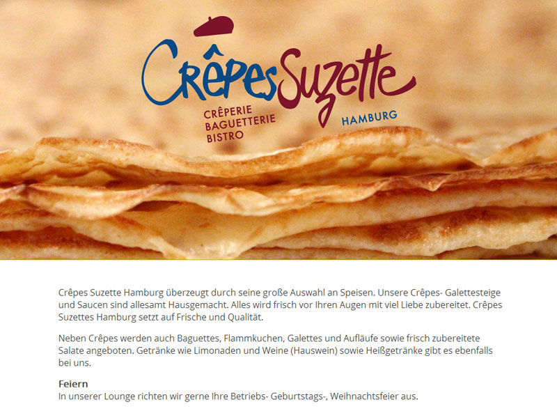 Crepes Suzette Hamburg